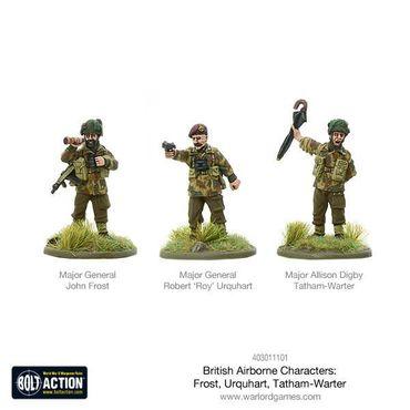 British Airborne Characters 28mm