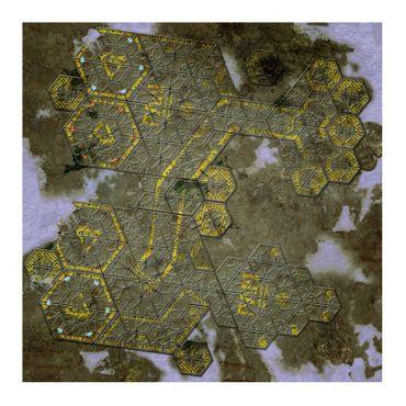 War Game Mat US Ariadna 48 x 48 Zoll (ca. 121,9 x 121,9 cm)