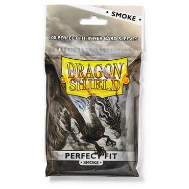 Dragon Shield Perfect Fit Smoke 100 Standard Sleeves