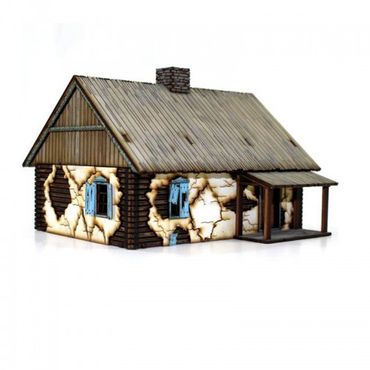 Russian Rural Cottage 28mm