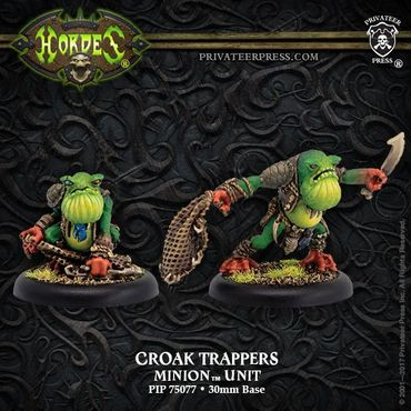 Minions Croak Trappers Unit