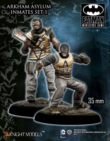 Arkham Asylum Inmates Set 1 35mm