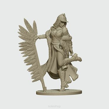 Olenka the Winged Hussar 28mm – Bild 2