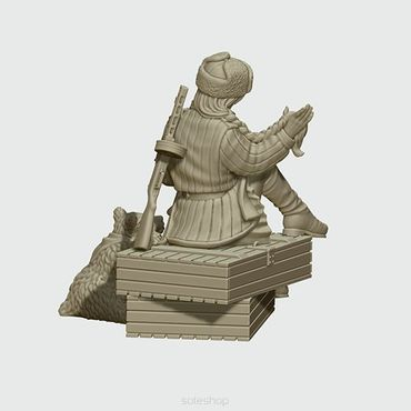 Marusha of the Red Army 28mm – Bild 3