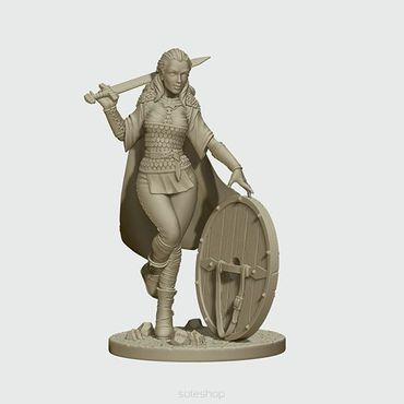 Lagertha the Shieldmaiden 54mm – Bild 2