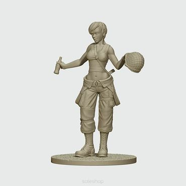 Jane US Paratrooper 54mm – Bild 2