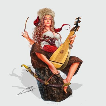 Ksenia the Cossack 54mm – Bild 1