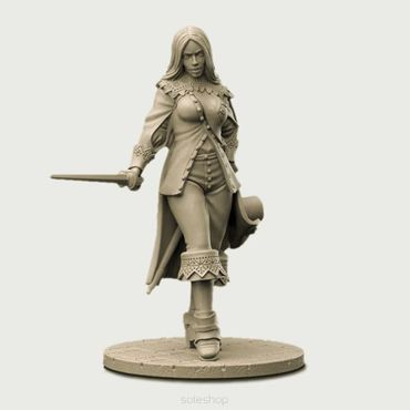 Eloise the Musketeer 54mm – Bild 2