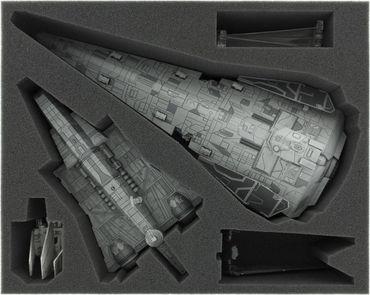 Schaumstoffeinlage für Star Wars X-WING Imperiale Korvette, Angriffsträger, Lambda- und Ypsilon Klasse – Bild 1