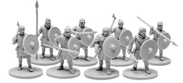 V&V Miniatures The Anglo-Saxons Ceorls 4 – Bild 1