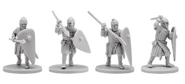 V&V Miniatures Norman Infantry 2