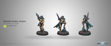 Yu Jing Zhànying Imperial Agents (Hacking Device, Breaker Combi Rifle)