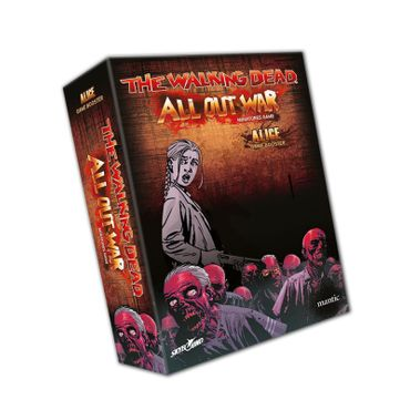 The Walking Dead Alice Booster (Englisch) All Out War