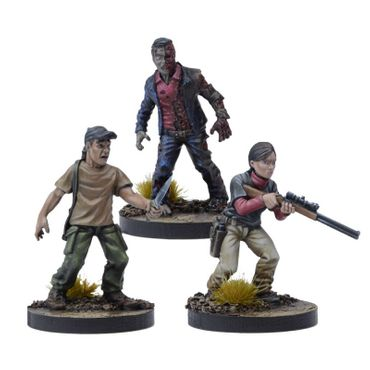 The Walking Dead Lilly Booster (Englisch) All Out War – Bild 2