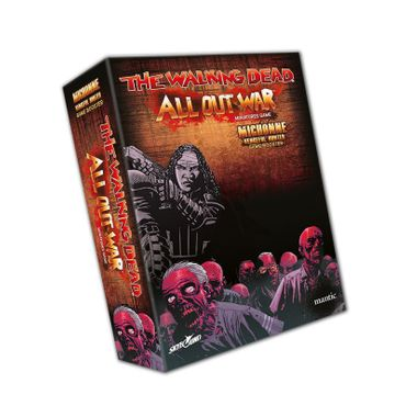 The Walking Dead Michonne, Vengeful Hunter Booster (Englisch) All Out War – Bild 1