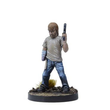 The Walking Dead Rick, Disfigured but Determined Booster (Englisch) All Out War – Bild 3