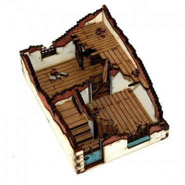 Ruined House Type 2 28mm – Bild 1
