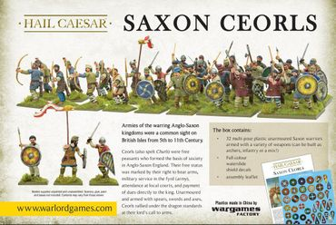 Saxon Ceorls 28mm – Bild 4