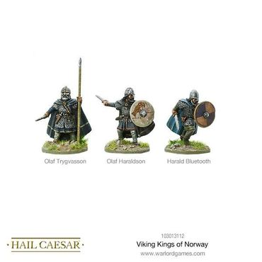Vikings Kings of Norway 28mm