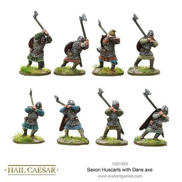 Saxon Huscarls with Dane Axe 28mm – Bild 1