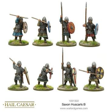 Saxon Huscarls B 28mm – Bild 1