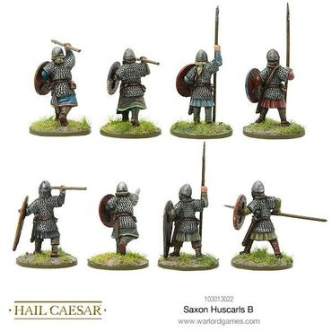 Saxon Huscarls B 28mm – Bild 2