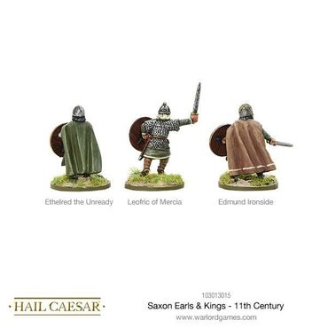 Saxon Earls and Kings 11th Century 28mm – Bild 2