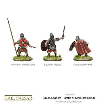 Saxon Leaders Battle Of Stamford Bridge 28mm – Bild 2