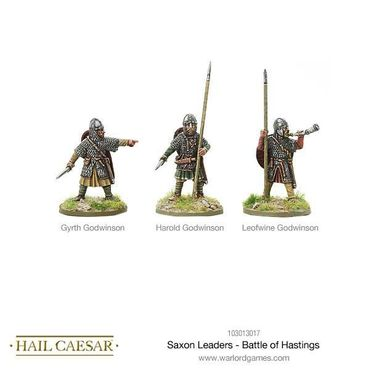Saxon Leaders Battle Of Hastings 28mm – Bild 1