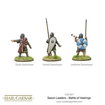 Saxon Leaders Battle Of Hastings 28mm – Bild 2