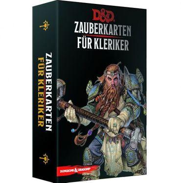 Dungeons & Dragons Zauberkarten für Kleriker (Deutsch)