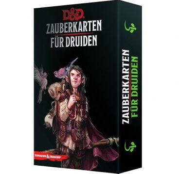 Dungeons & Dragons Zauberkarten für Druiden (Deutsch)