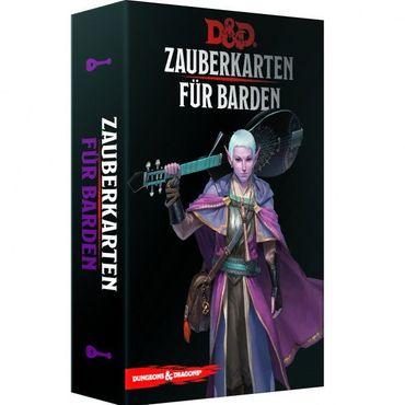 Dungeons & Dragons Zauberkarten für Barden (Deutsch)