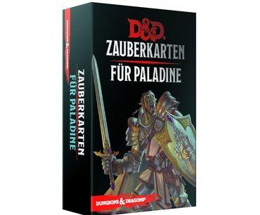 Dungeons & Dragons Zauberkarten für Paladine (Deutsch)