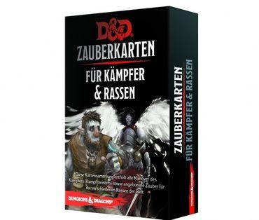 Dungeons & Dragons Zauberkarten für Kämpfer & Rassen (Deutsch)