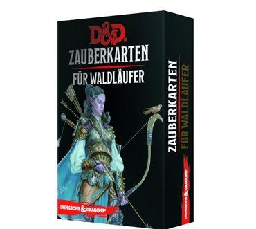 Dungeons & Dragons Zauberkarten für Waldläufer (Deutsch)