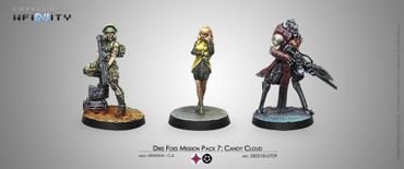 Dire Foes Mission Pack 7: Candy Cloud (Ariadna vs Combined Army)