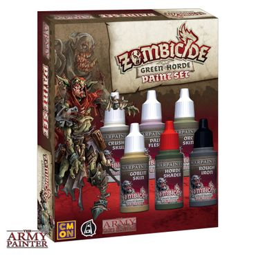 Zombicide Green Horde Paint Set