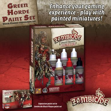 Zombicide Green Horde Paint Set – Bild 2