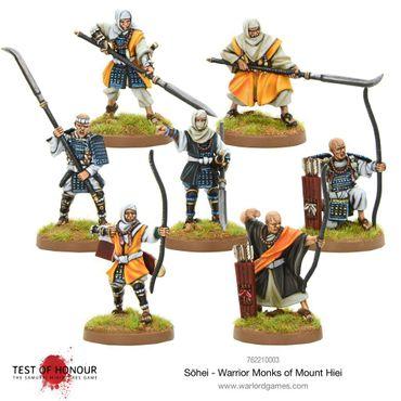 Test of Honour Sōhei Warrior Monks of Mount Hiei 28mm – Bild 2