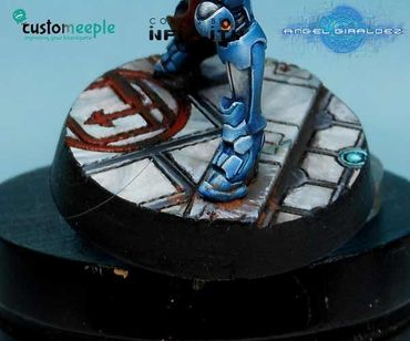 Infinity Jeanne D'arc Base Top by Giraldez 25mm (1) – Bild 1