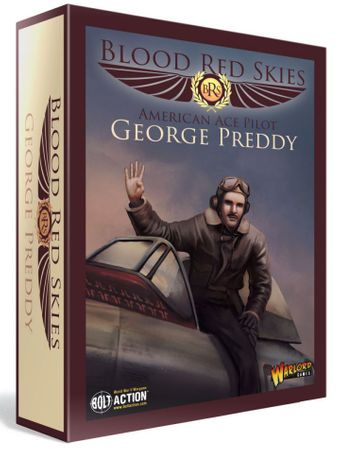 Blood Red Skies American ACE Pilot George Preddy (Englisch)
