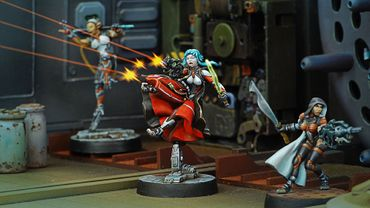 Nomads Cassandra Kusanagi (MULTI Rifle + Light Flame, Shock CCW) – Bild 2
