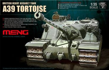 Meng British Heavy Assault Tank A39 Tortoise 1/35