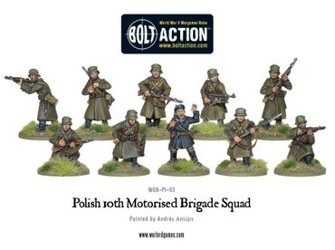 Polish Motorised Brigade Squad 28mm – Bild 2