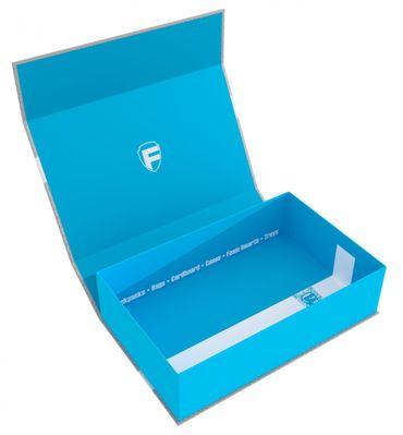 Half-Size Magnetbox 75 mm blau -leer-