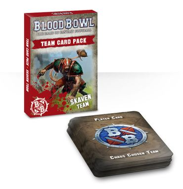 Blood Bowl Skaven Team Card Pack (Deutsch)