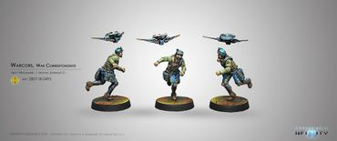 Mercs Warcors War Correspondents (Journalist L1)