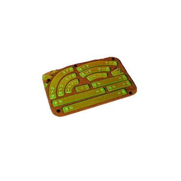 X-Wing Space Fighter Manouver Tray Green Templates – Bild 1