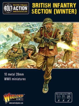 British Infantry Section (Winter) 28mm – Bild 1